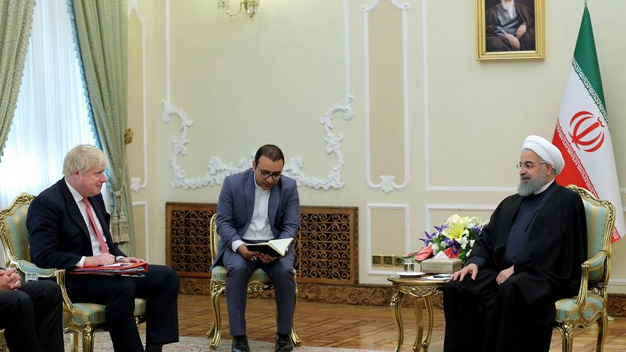 پایان سفر بوریس جانسون به ایران؛ «دادگاه دوم نازنین زاغری به تعویق افتاد»