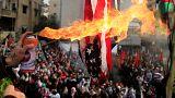 Fúria no Líbano contra Trump