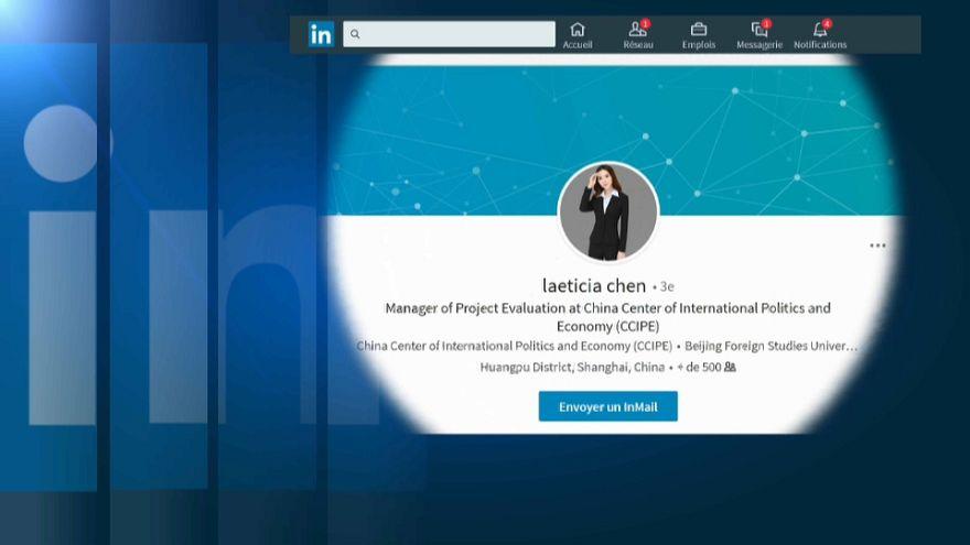 """Uno dei falsi profili utilizzati per """"agganciare"""" i contatti"""