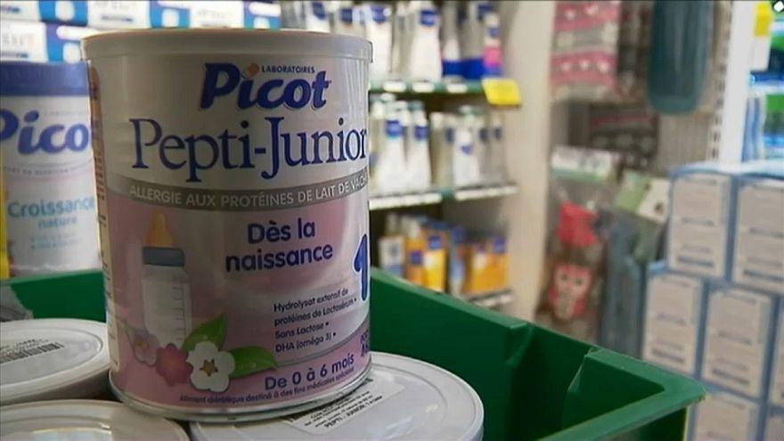Francia: ritiro massivo di latte artificiale, per contaminazione di salmonella