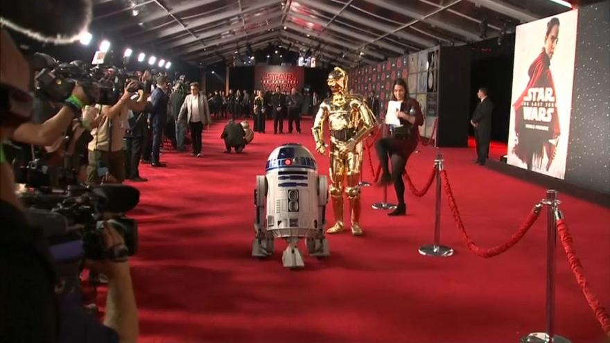 LA premiere Star Wars: The Last Jedi