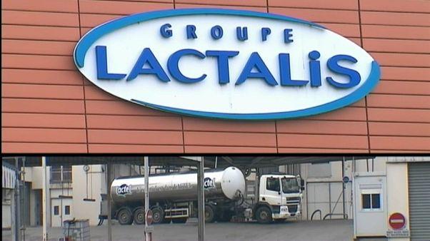 Segunda retirada masiva de productos Lactalis en Francia