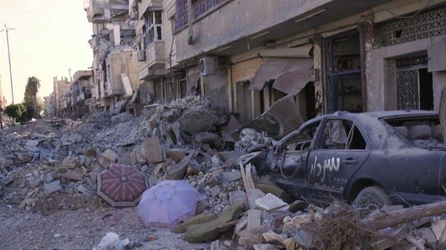 Siria, le macerie dopo la guerra