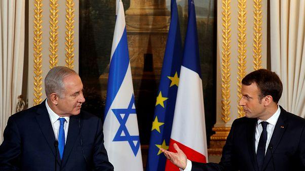 Gerusalemme: posizioni divergenti di Netanyahu e Macron
