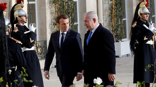 Jerusalem-Frage: Macron und Netanjahu uneinig