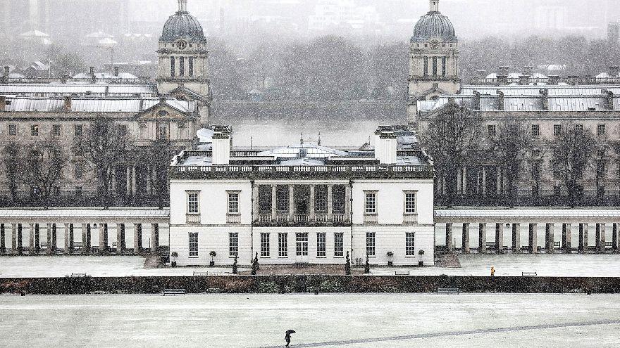 Εικόνα στο Εθνικό Ναυτικό Μουσείο του Λονδίνου
