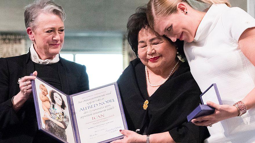 Вручена Нобелевская премия мира