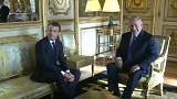 Macron and Netanyahu hold talks in Paris