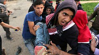 Cuarto día de protestas en los territorios palestinos