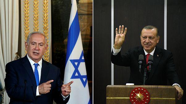 Benjamin Netanyahu e Recep Tayyp Erdogan abrem guerra de palavras