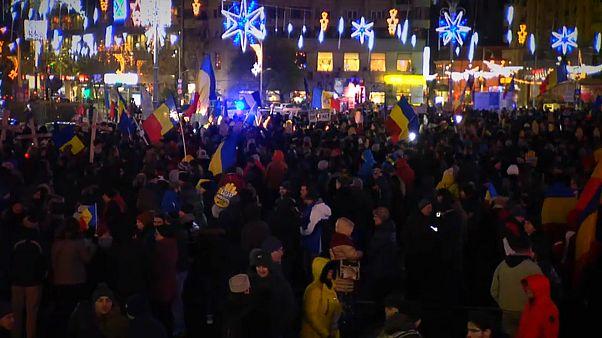 Migliaia di romeni in piazza contro la riforma della giustizia