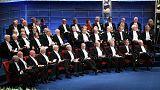11 laureados en los Premios Nobel (y ninguna mujer)