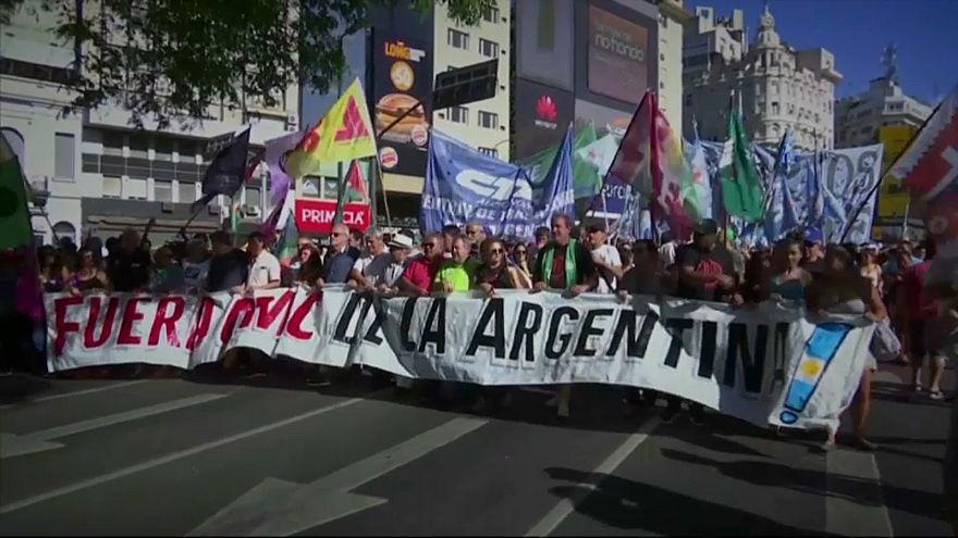 Buenos Aires: DTÖ Zirvesi protestolarla başladı