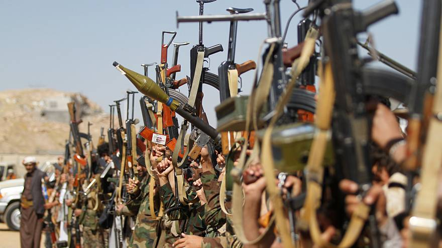 Huthi-Kämpfer im Jemen