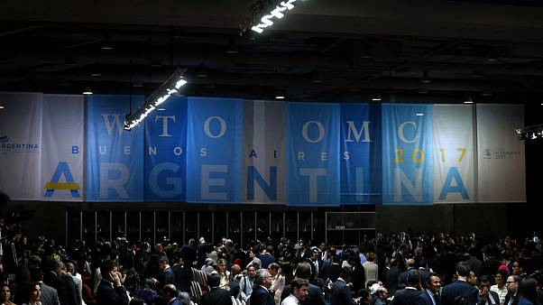 World Trade Organization's ministerial conference opens in Buenos Aires