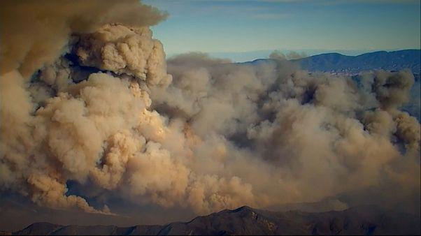 kaliforniya yangın