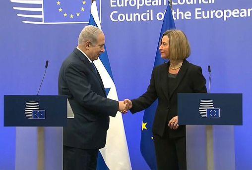"""""""Los países europeos llevarán su embajada a Jerusalén"""", dice Netanyahu en Bruselas"""