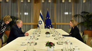Jerusalem's status will be centre of talks between Netanyahu and Mogherini