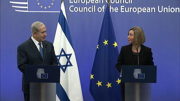 Visita di Netanyahu a Bruxelles