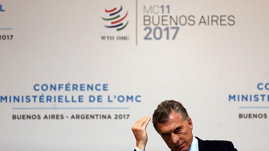 Mauricio Macri prend la défense de l'OMC