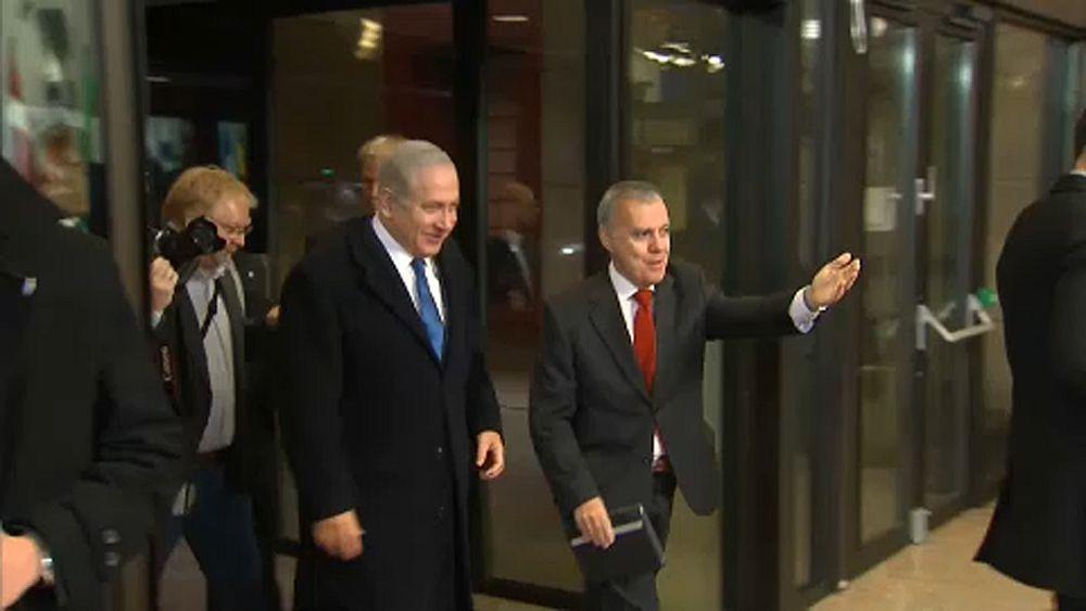 Netanjahu Brüsszelben lobbizik Jeruzsálemért