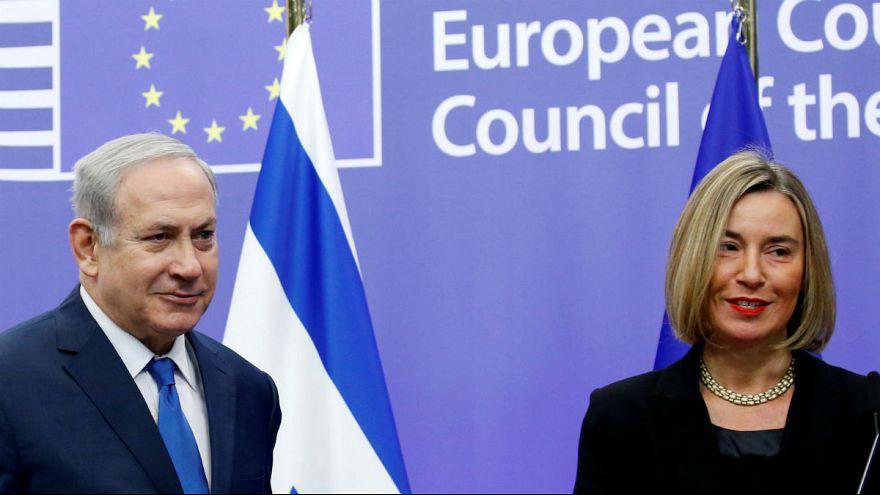 نتانیاهو در بروکسل: تصمیم ترامپ راه صلح را هموار کرد
