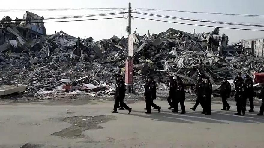 Mass evictions of migrant workers in Beijing