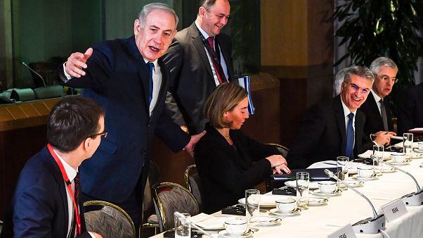 نتانياهو في بروكسل