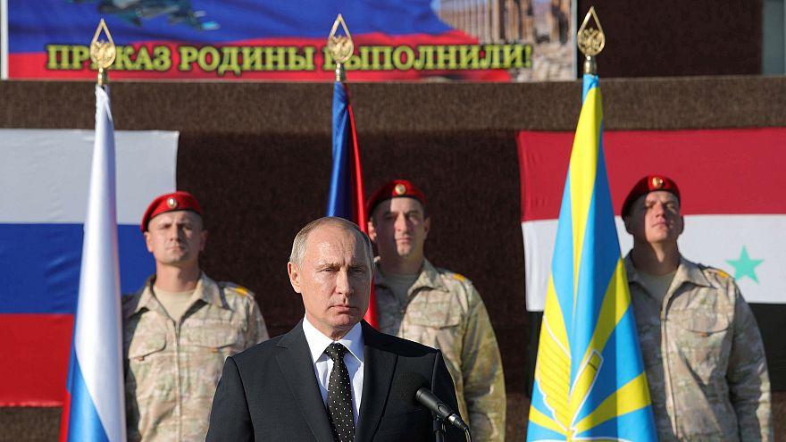 Вывод войск РФ из Сирии