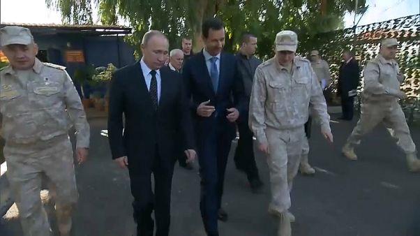 Putin ordena la retirada de las tropas rusas de Siria