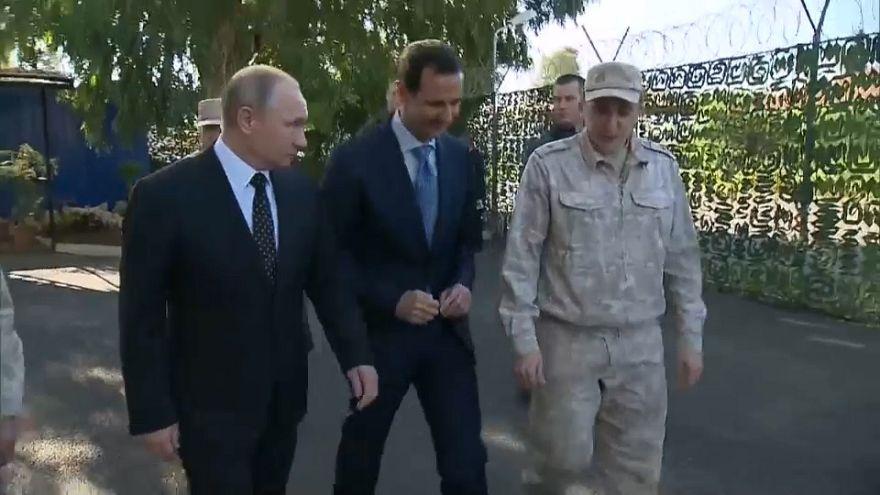 Putin ordena início da retirada das forças russas da Síria