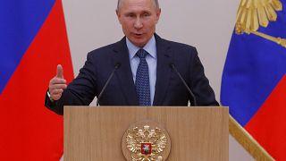 Poutine ordonne le retrait d'une partie du contingent militaire russe
