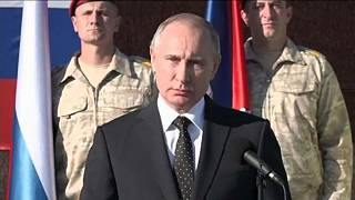 Az orosz csapatok kivonását jelentette be Szíriában Vlagyimir Putyin orosz elnök