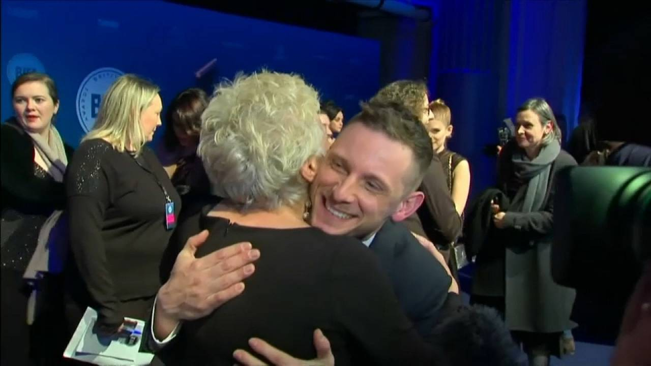 Jamie Bell and Julie Walters celebrate working together again