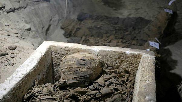 کشف دو مقبره باستانی جدید در مصر