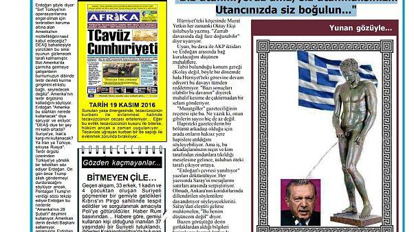 Σάλος σε κατεχόμενα και Τουρκία από πρωτοσέλιδο κατά του Ερντογάν