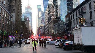 انفجار در نیویورک سه مجروح بر جا گذاشت
