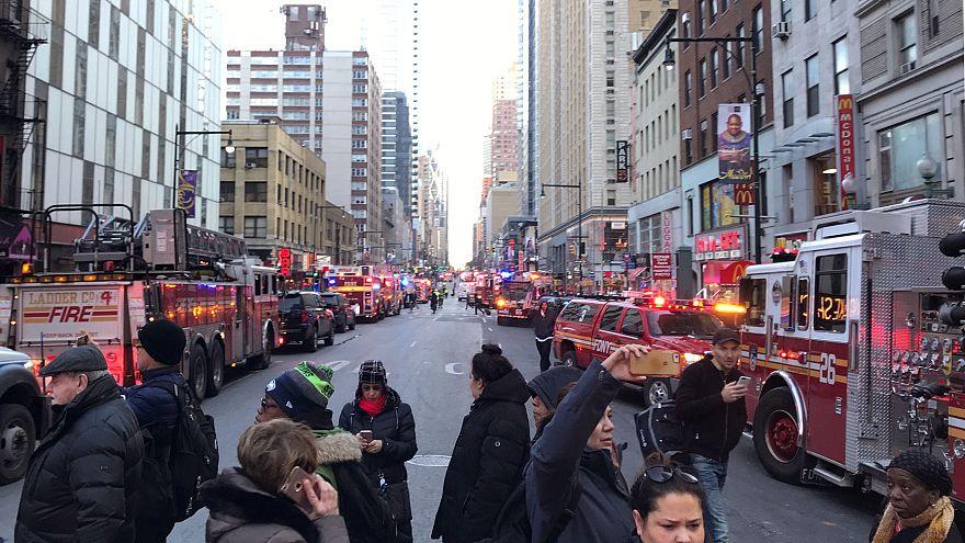 В центре Манхэттена прогремел взрыв
