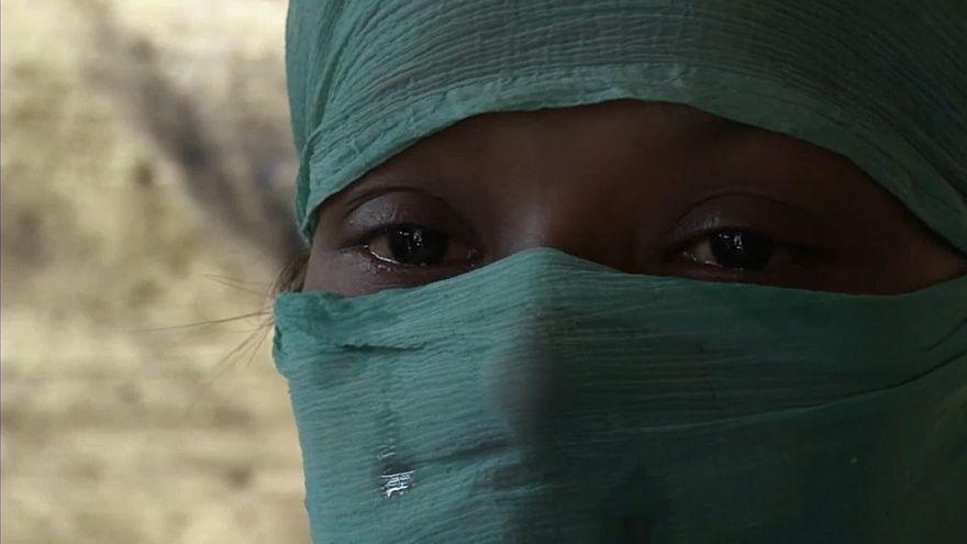 Rohingya-Frau