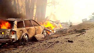 Kalifornien: Feuer weiter auf dem Vormarsch