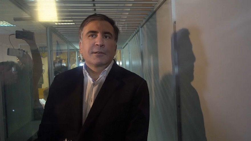 Саакашвили снова на свободе