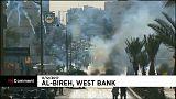 Palestinianos em protesto