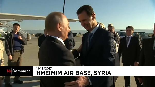 Siria, vertice Putin-Assad