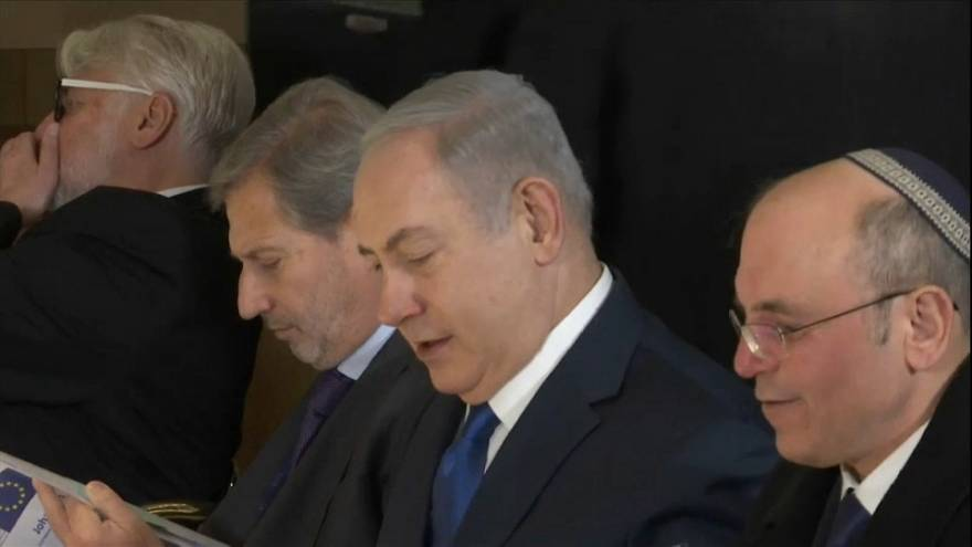 EU says' no' to Netanyahu