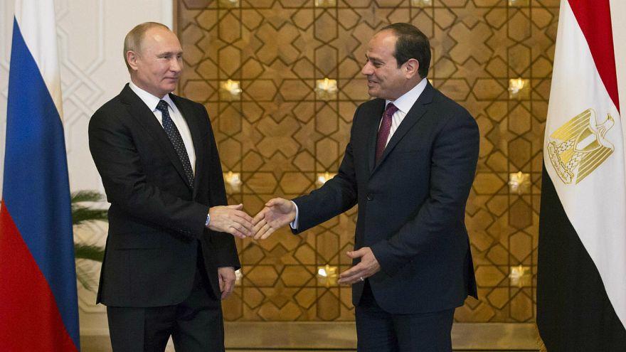 امضای توافقهای هستهای و نظامی میان روسیه و مصر
