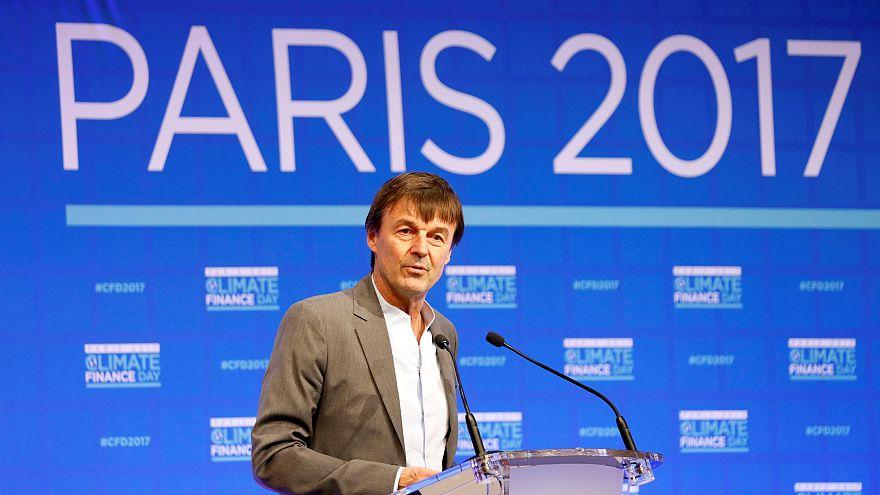 """Nicolas Hulot à la veille du """"One Planet Summit"""""""