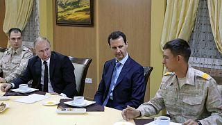 Η επίσκεψη - έκπληξη του Πούτιν στη Συρία