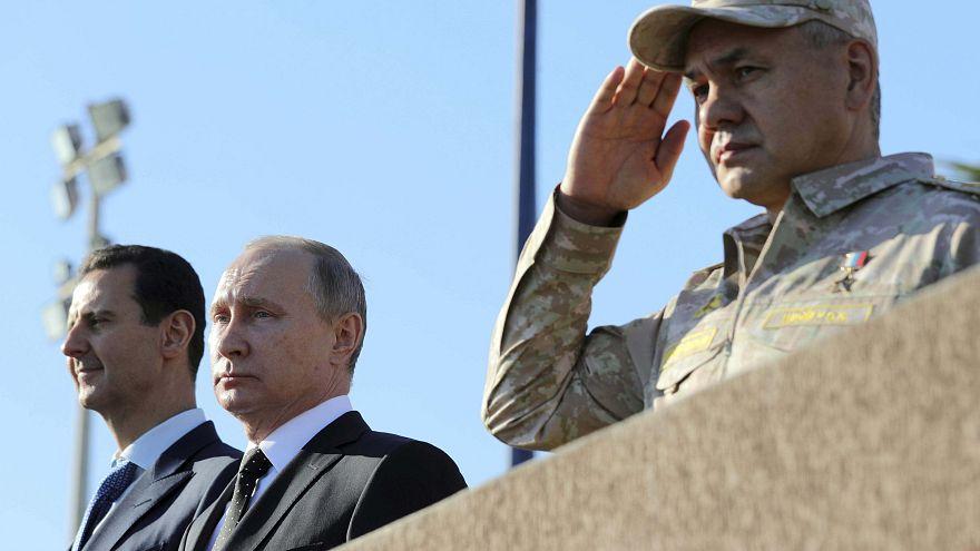 Путин отдал приказ о выводе войск из Сирии