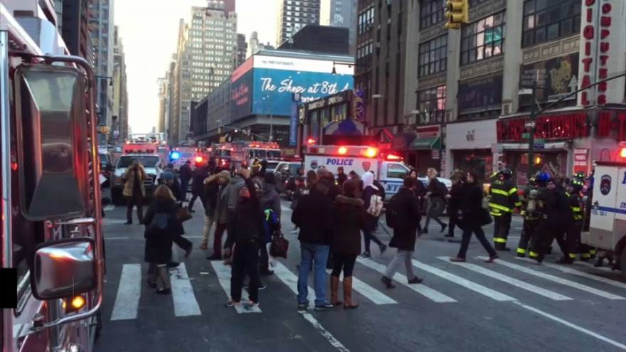 """Tentative d'attaque terroriste"" à New York"