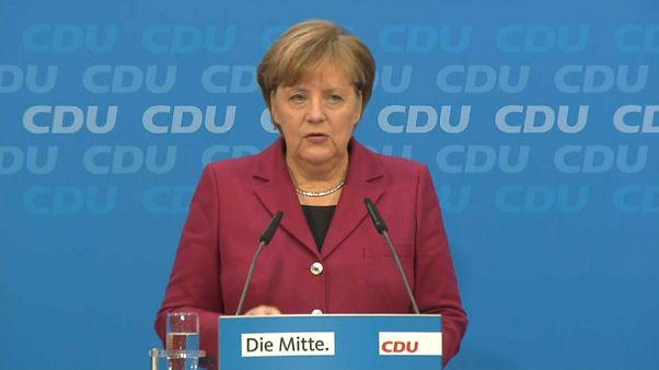 Merkel cerca l'accordo con l'SPD